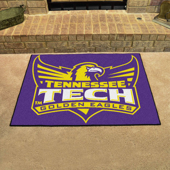 "33.75"" x 42.5"" Tennessee Tech University All Star Purple Rectangle Mat"