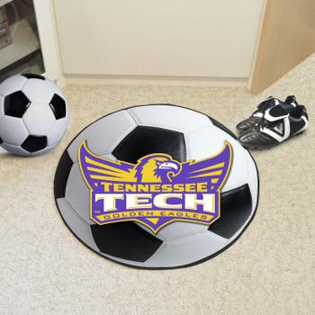"""27"""" Tennessee Tech University Soccer Ball Round Mat"""