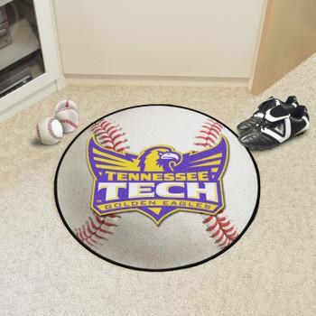 """27"""" Tennessee Tech University Baseball Style Round Mat"""