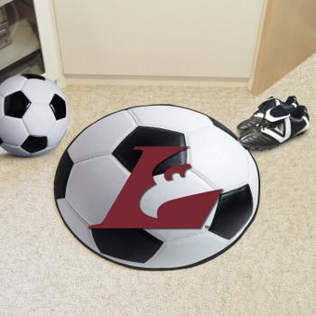 "27"" University of Wisconsin-La Crosse Soccer Ball Round Mat"