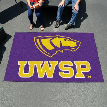 "59.5"" x 94.5"" University of Wisconsin-Stevens Point Purple Rectangle Ulti Mat"