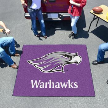 "59.5"" x 71"" University of Wisconsin-Whitewater Purple Tailgater Mat"
