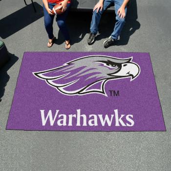 "59.5"" x 94.5"" University of Wisconsin-Whitewater Purple Rectangle Ulti Mat"