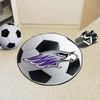 "27"" University of Wisconsin-Whitewater Soccer Ball Round Mat"