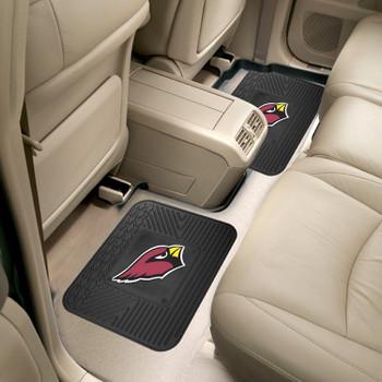 """14"""" x 17"""" Arizona Cardinals Vinyl Car Utility Mat, Set of 2"""