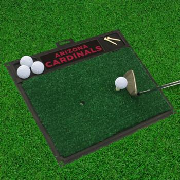 """20"""" x 17"""" Arizona Cardinals Golf Hitting Mat"""