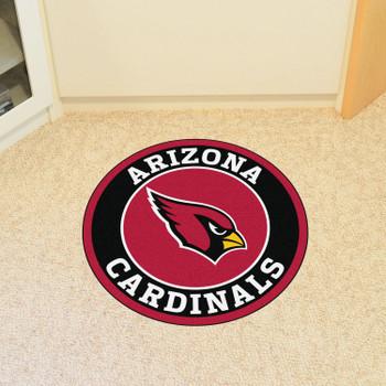 "27"" Arizona Cardinals Roundel Round Mat"
