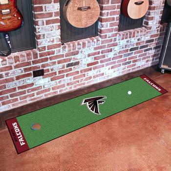 "18"" x 72"" Atlanta Falcons Putting Green Runner Mat"