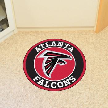 "27"" Atlanta Falcons Roundel Round Mat"