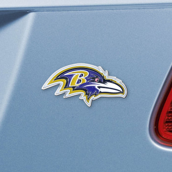 Baltimore Ravens Purple Emblem, Set of 2