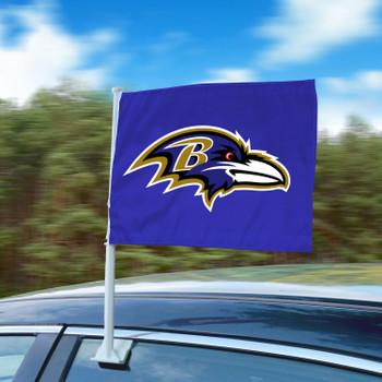"11"" x 14"" Baltimore Ravens Purple Car Flag"