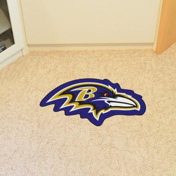 Baltimore Ravens Black Mascot Mat