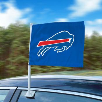 """11"""" x 14"""" Buffalo Bills Blue Car Flag"""