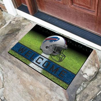 "18"" x 30"" Buffalo Bills Blue Crumb Rubber Door Mat"