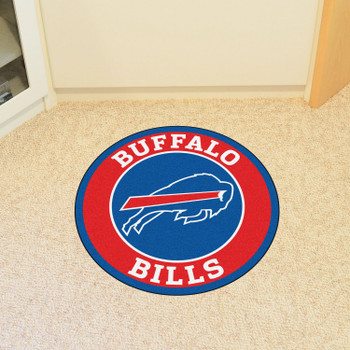 "27"" Buffalo Bills Roundel Round Mat"
