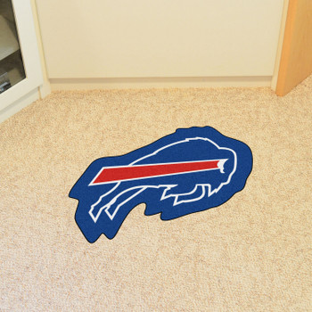 Buffalo Bills Blue Mascot Mat