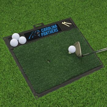 """20"""" x 17"""" Carolina Panthers Golf Hitting Mat"""