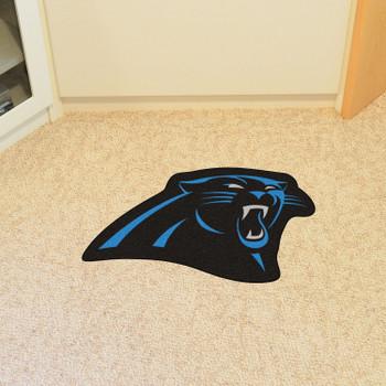 Carolina Panthers Black Mascot Mat