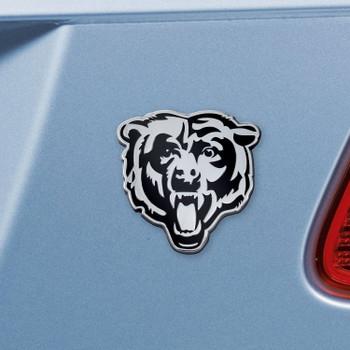 Chicago Bears Chrome Emblem, Set of 2