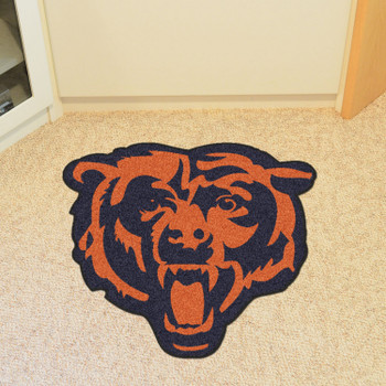 Chicago Bears Navy Mascot Mat