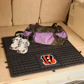 """31"""" Cincinnati Bengals Heavy Duty Vinyl Cargo Trunk Mat"""