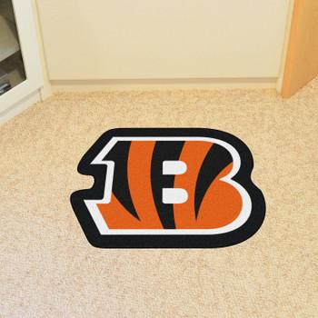 Cincinnati Bengals Black Mascot Mat
