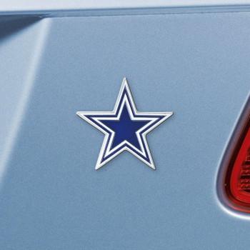 Dallas Cowboys Blue Emblem, Set of 2