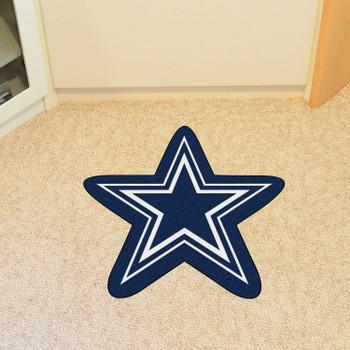 Dallas Cowboys Navy Mascot Mat