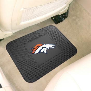 """14"""" x 17"""" Denver Broncos Car Utility Mat"""