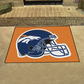 "33.75"" x 42.5"" Denver Broncos All Star Navy Rectangle Rug"