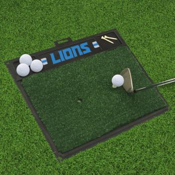 """20"""" x 17"""" Detroit Lions Golf Hitting Mat"""