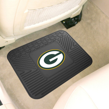 "14"" x 17"" Green Bay Packers Car Utility Mat"