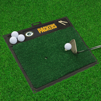 "20"" x 17"" Green Bay Packers Golf Hitting Mat"
