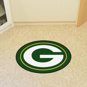 Green Bay Packers Green Mascot Mat
