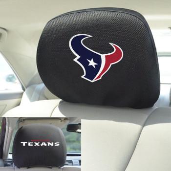 Houston Texans Car Headrest Cover, Set of 2