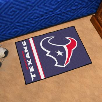 "19"" x 30"" Houston Texans Uniform Navy Rectangle Starter Mat"