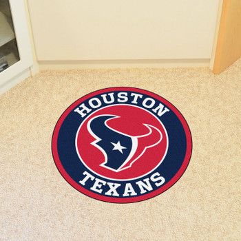 "27"" Houston Texans Roundel Round Mat"
