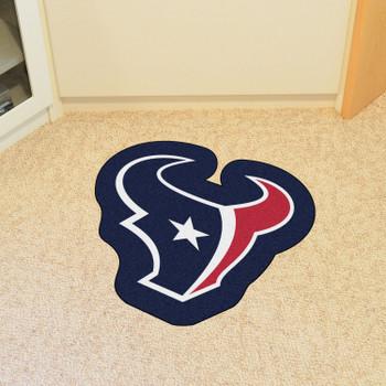 Houston Texans Navy Mascot Mat