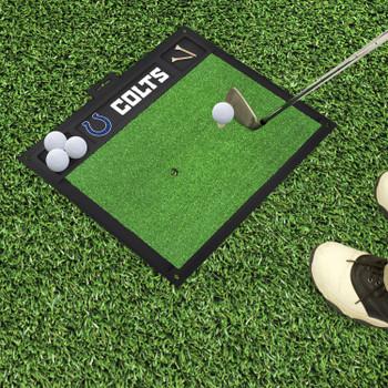 "20"" x 17"" Indianapolis Colts Golf Hitting Mat"