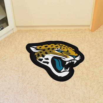 Jacksonville Jaguars Black Mascot Mat