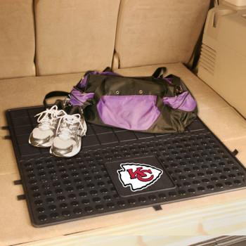 "31"" Kansas City Chiefs Heavy Duty Vinyl Cargo Trunk Mat"