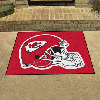 "33.75"" x 42.5"" Kansas City Chiefs All Star Red Rectangle Rug"