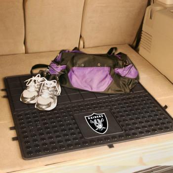 "31"" Las Vegas Raiders Heavy Duty Vinyl Cargo Trunk Mat"