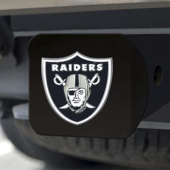 Las Vegas Raiders Hitch Cover - Black on Black