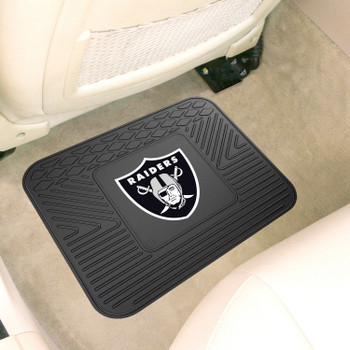 "14"" x 17"" Las Vegas Raiders Car Utility Mat"