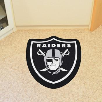 Las Vegas Raiders Black Mascot Mat