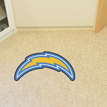 Los Angeles Chargers Navy Mascot Mat