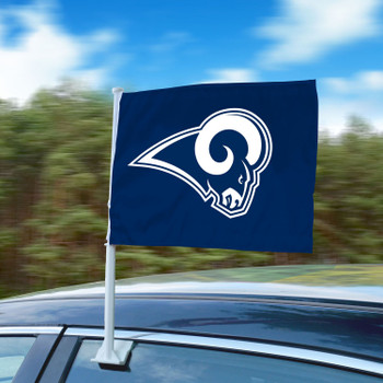 "11"" x 14"" Los Angeles Rams Blue Car Flag"