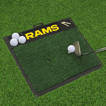"20"" x 17"" Los Angeles Rams Golf Hitting Mat"