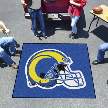 """59.5"""" x 71"""" Los Angeles Rams Navy Tailgater Mat"""